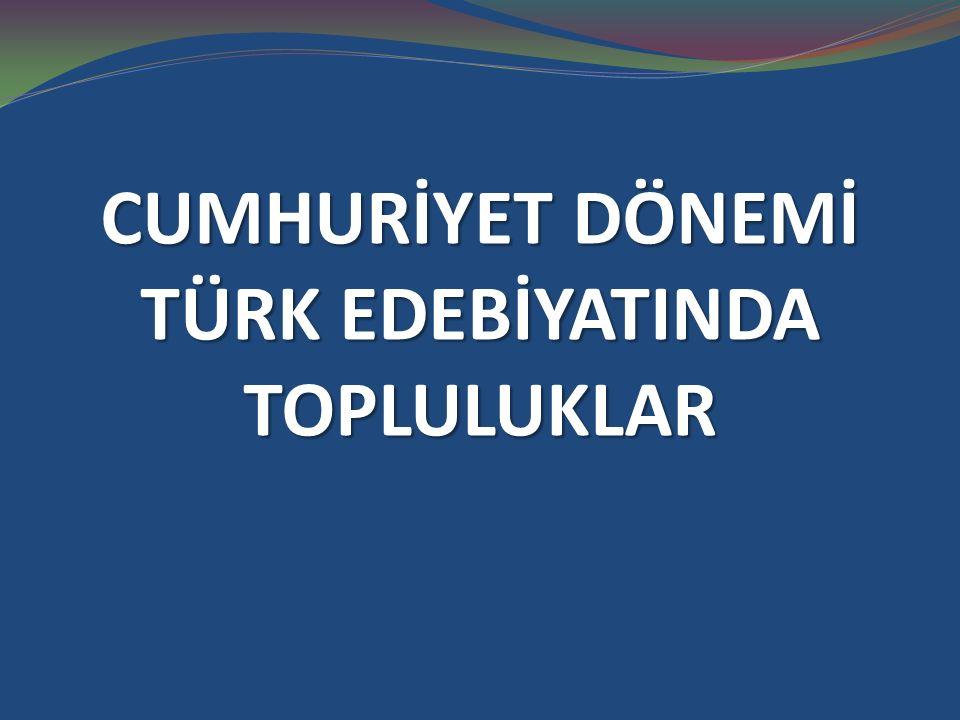 BEHÇET NECATİGİL (1916-1979)  Cumhuriyet dönemi Türk şiirinde kendi çizgisini yaratmış şairlerdendir.