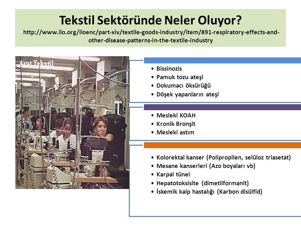 Tekstil Sektöründe Neler Oluyor? http://www.ilo.org/iloenc/part-xiv/textile-goods-industry/item/891-respiratory-effects-and- other-disease-patterns-in