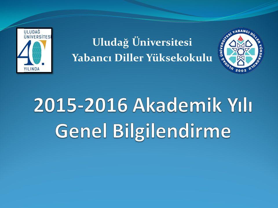 Uludağ Üniversitesi Yabancı Diller Yüksekokulu
