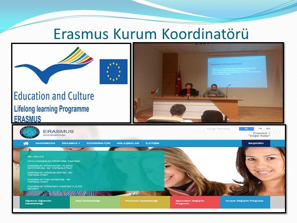 Erasmus Kurum Koordinatörü