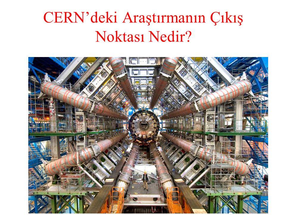CERN'deki Araştırmanın Çıkış Noktası Nedir?