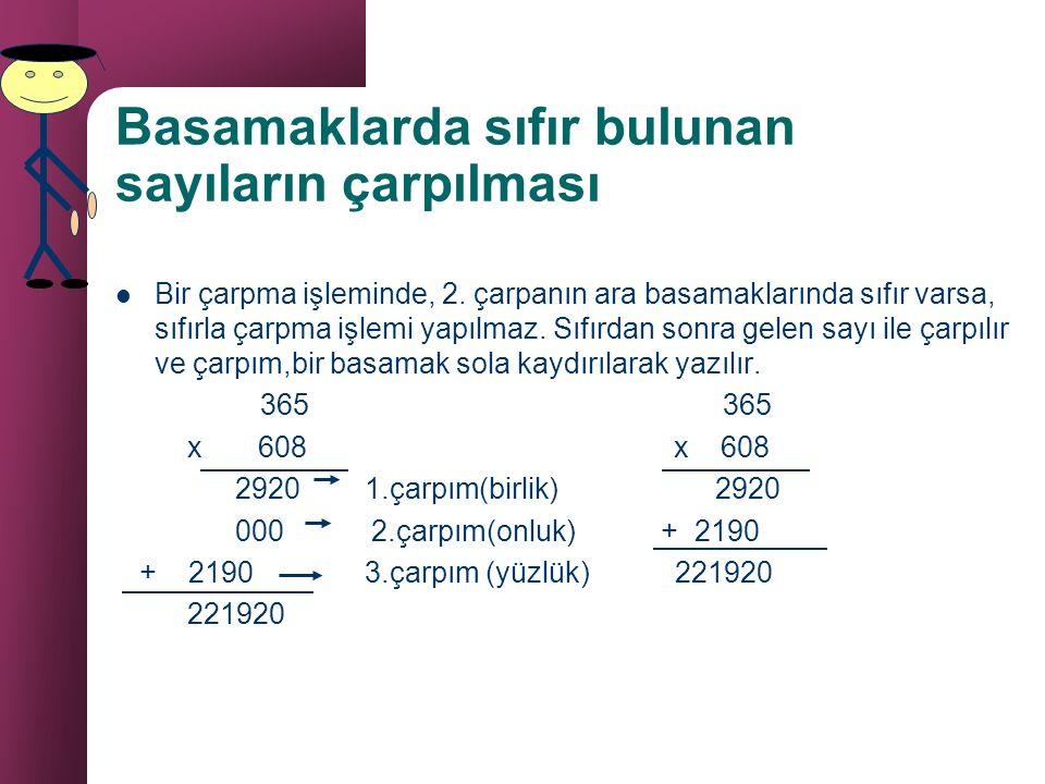 DOĞAL SAYILARDA ÇARPMA A x B = C ÇARPAN ÇARPAN ÇARPIM 3+3+3+3=12 veya 4x3=12