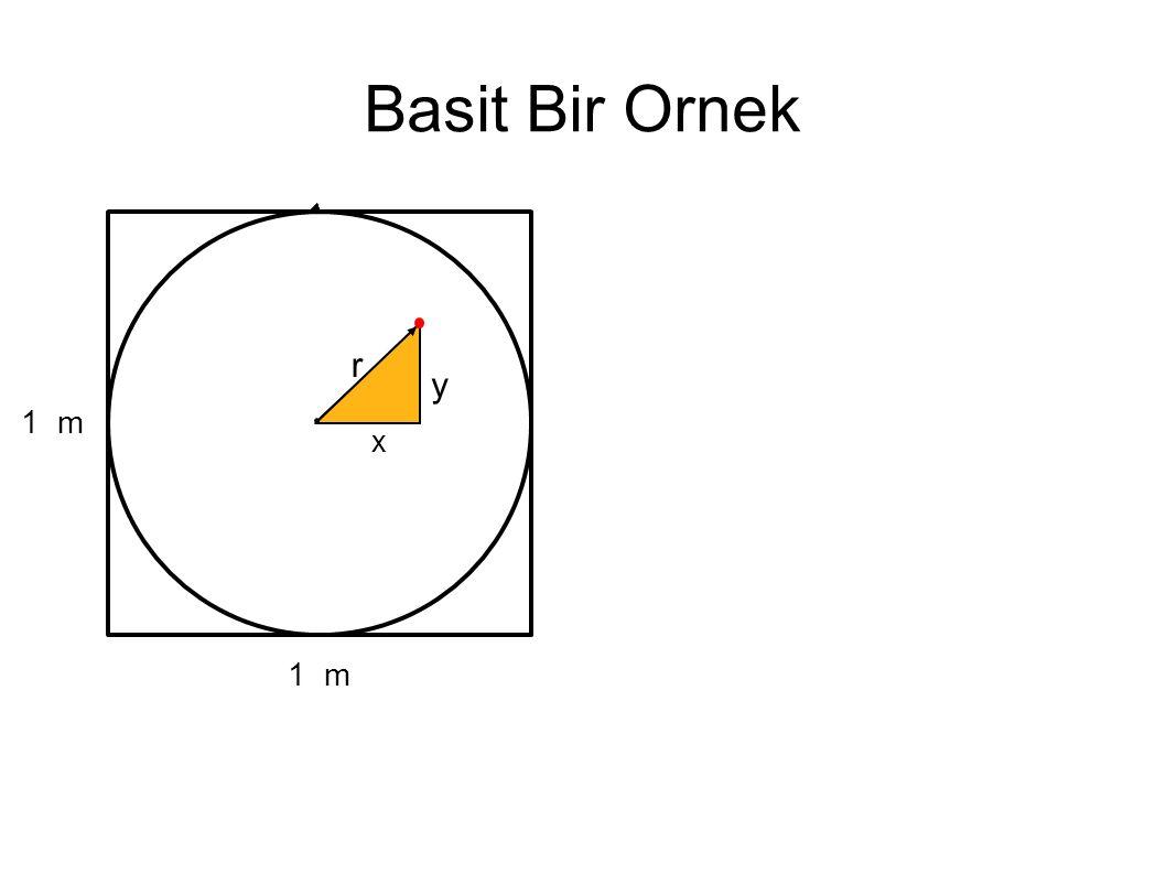 Basit Bir Ornek 1 m r x y
