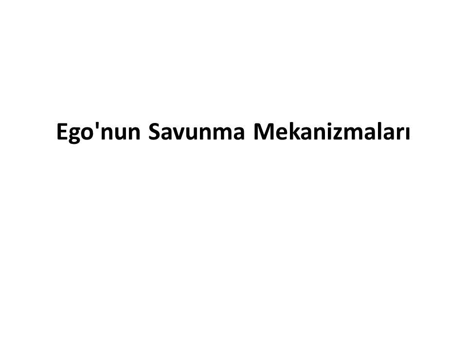 Ego'nun Savunma Mekanizmaları