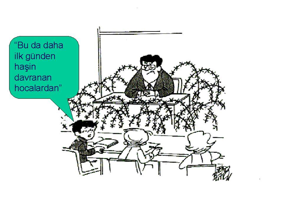 Sınıf Yönetiminin Boyutları Psikososyal yönetim (sınıfın psikolojik ve sosyal dinamikleri) Fiziki ortam yönetimi (sınıf düzeni ve malzemeleri, ekipman) Öğretimsel yönetim (haftalık program, gruplama, ders planı) Örgüt yönetimi (kişiler arası ilişkiler, çalışma ortamı) İşlemler yönetimi (sınıf kuralları ve uygulanmaSı) Davranış yönetimi (istenen ve istenmeyen davranışlar)