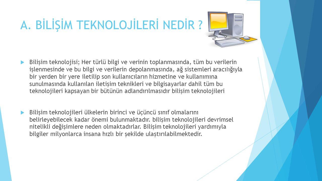 BİLİŞİM SİSTEMİNDEKİ VERİLERİ BOZMA  Bilişim sistemi içinde yer alan verilerin kısmen veya tamamen kullanılamaz hale getirilmesidir.