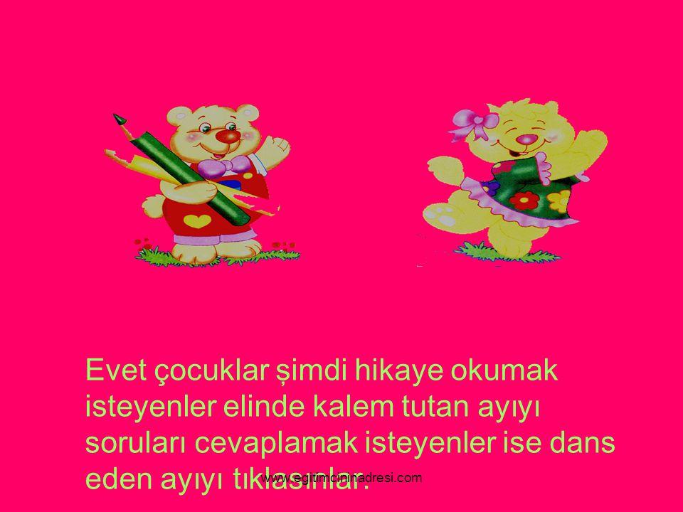 ÇIKIŞ Tintin tavşan bugün çok mutluydu.Artık o da okula gidecekti www.egitimcininadresi.com