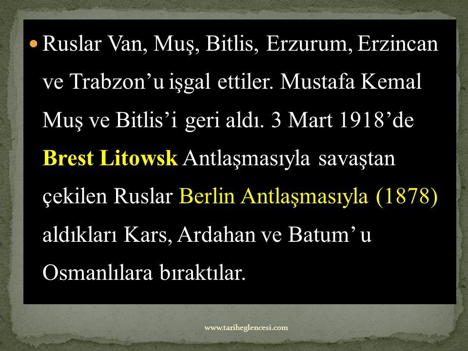 1-Kafkas cephesi İtihatçıların Kafkasya üzerinden Türk ülkeleri ile ilişki kurarak Rusları zor durumda bırakmak istemeleri ve Bakü petrollerini ele ge