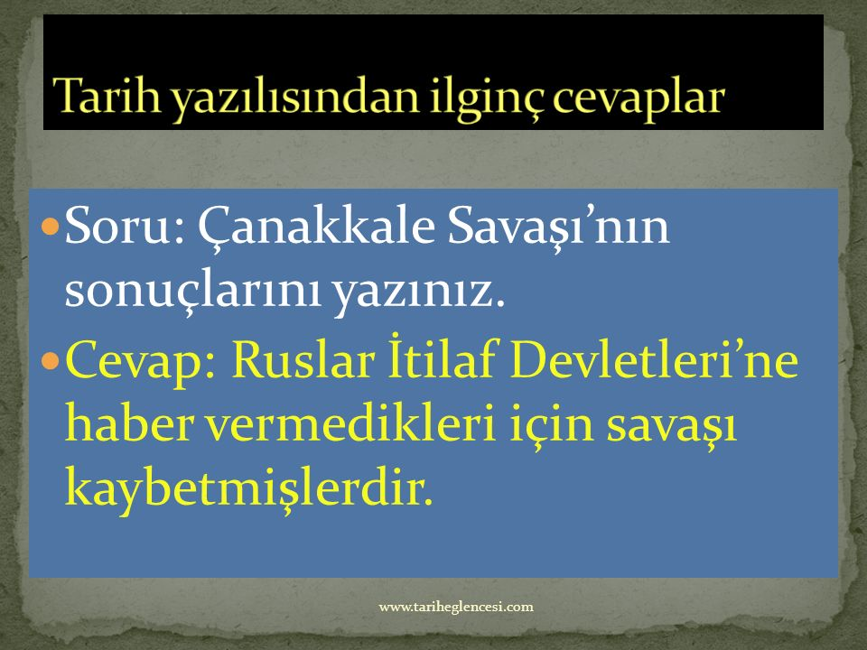Ruslar Van, Muş, Bitlis, Erzurum, Erzincan ve Trabzon'u işgal ettiler.