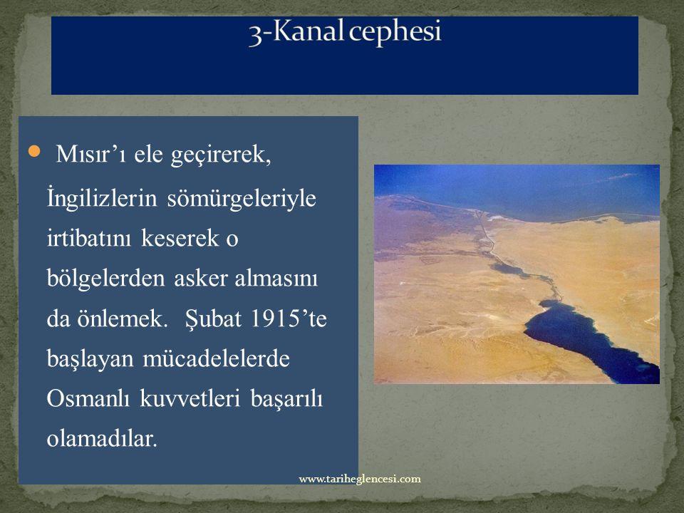 İngilizlerin Musul-Kerkük petrollerini ele geçirme, Hint deniz yolunun güven altına alınması ve Kuzeye çıkarak Ruslara yardım etme düşünceleri ile İngilizler tarafından açılmıştır.