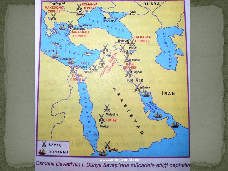 Osmanlılar bu cephede kutsal yerleri korumak amacıyla savaşın sonuna kadar savaştılar. Bu cephede İngilizlerin yanında kendisine istiklal ve Arap Devl