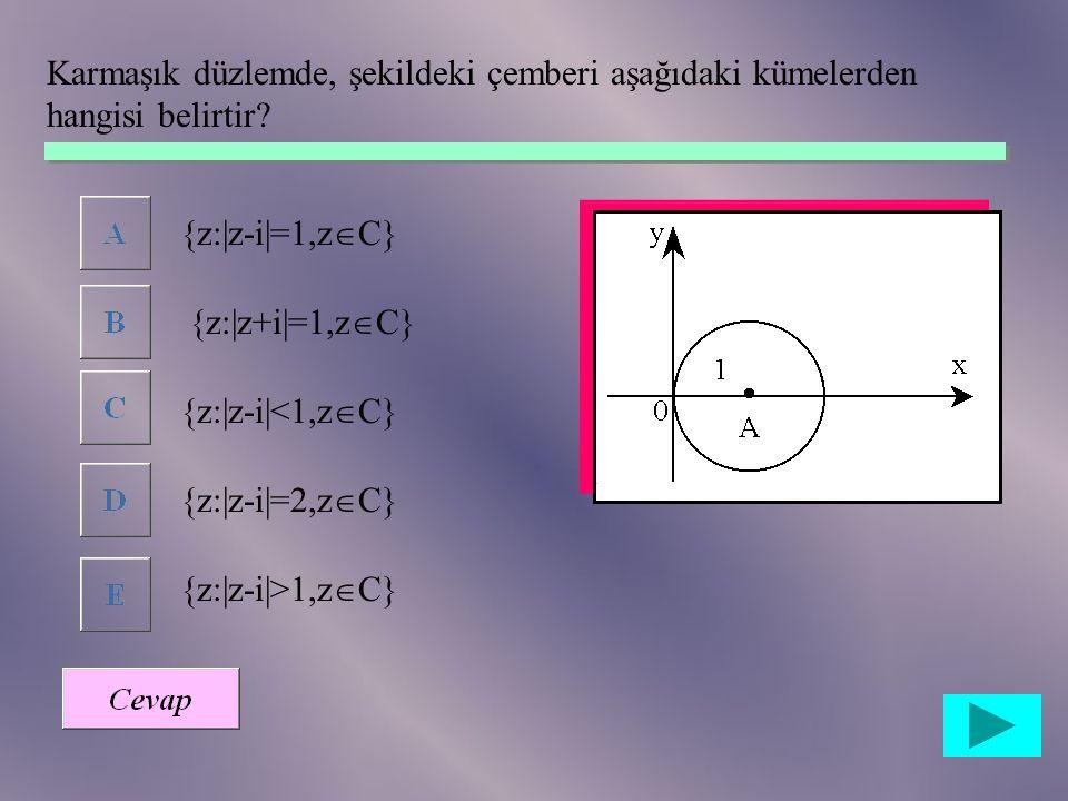 ise (x,y) ikilisi aşağıdakilerden hangisidir?