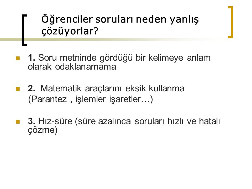 D,E,C,B,A Türkçe paragraf sorularında da işe yarayan bir yöntemdir.