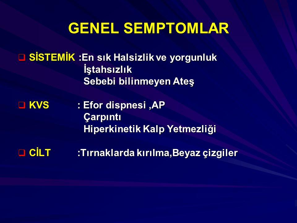 ORAK HÜCRELİ ANEMİ TANI.1. Hg Elektroforezi (Hg S>85,Hg A yok) 2.