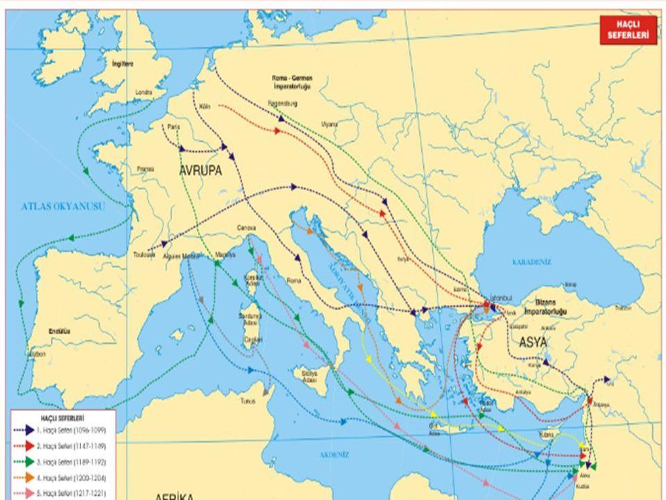 Orta Çağın en büyük siyasi ve askerî olaylarından biri Haçlı Seferleridir.