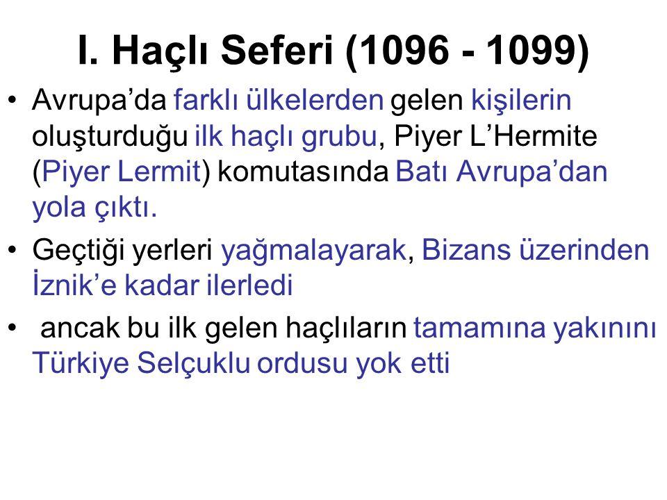 Bu yenilgiden sonra 600.000 kişilik düzenli bir Haçlı ordusu İstanbul'a geldi (1097).