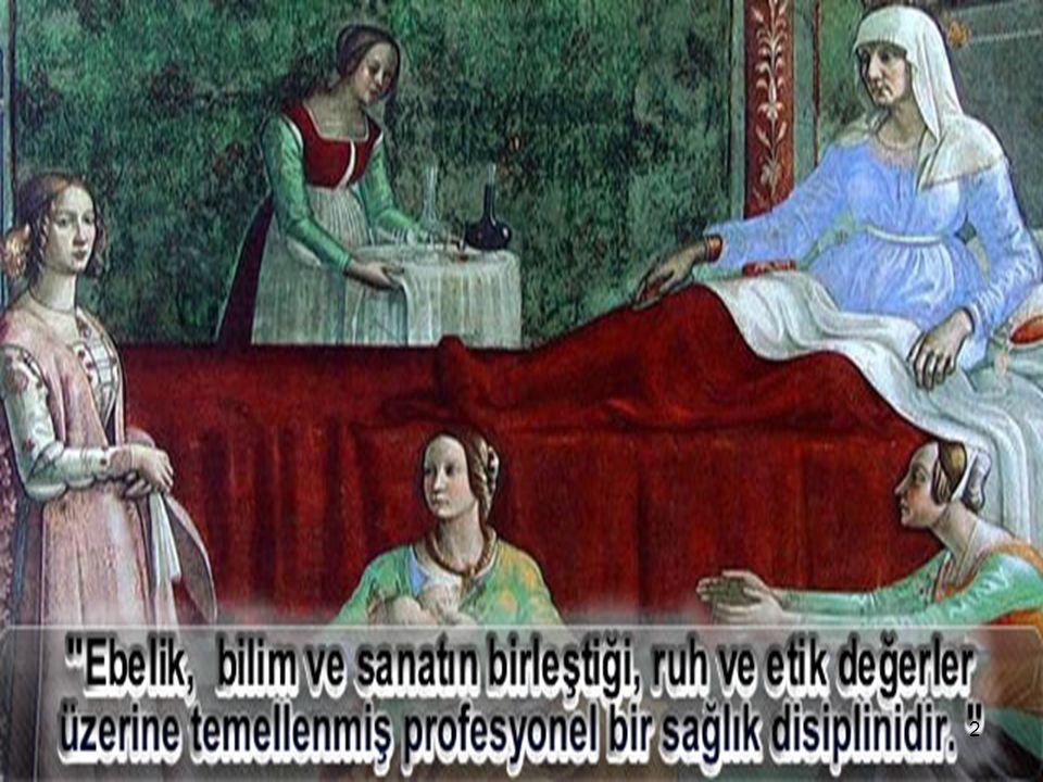 TÜRKİYE'DE EBELİK TARİHİ 13Öğr.Gör.Funda AKDURAN