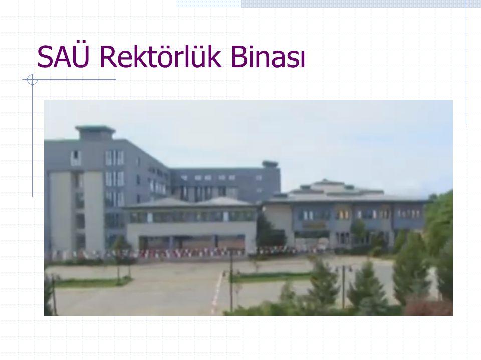 SAÜ Rektörlük Binası
