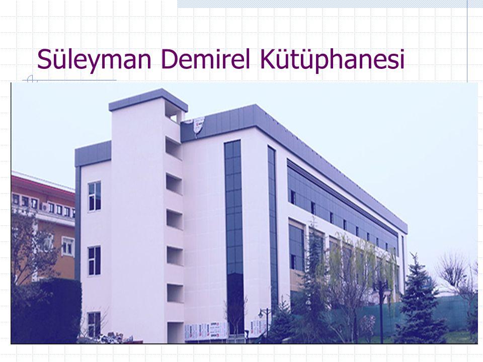 Süleyman Demirel Kütüphanesi