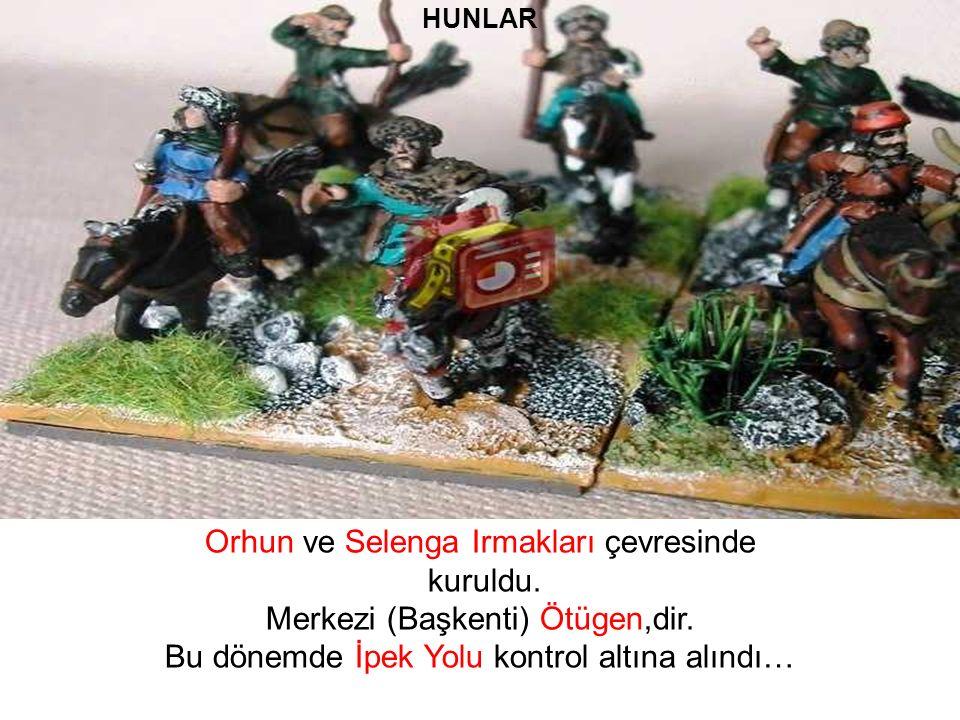 Hunlar Teoman zamanında güçlü bir duruma geldiler.