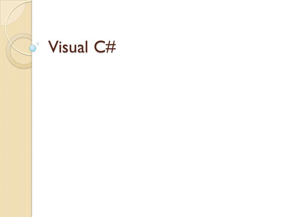 Visual Studio Nedir.