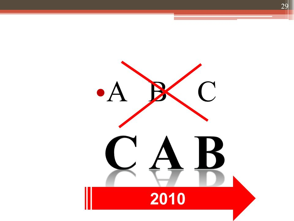 A B C 2010 29