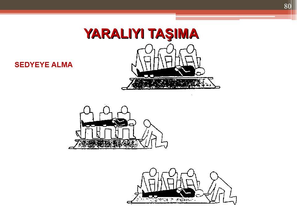 SEDYEYE ALMA YARALIYI TAŞIMA 80