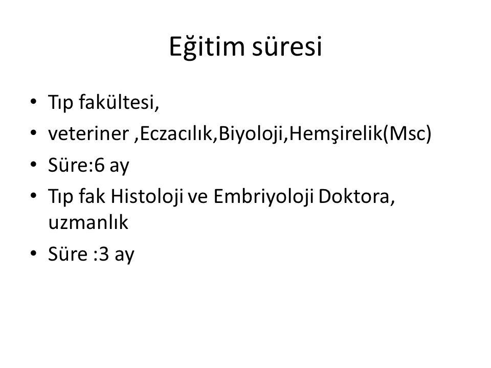 İstanbul Üniversitesi Sağlık bilimleri Enstitüsü Üreme Biyolojisi ve Genetik Yüksek Lisans Programı Program Yürütücüsü: Prof.Dr.Tülay İrez Program içeriği: 1.