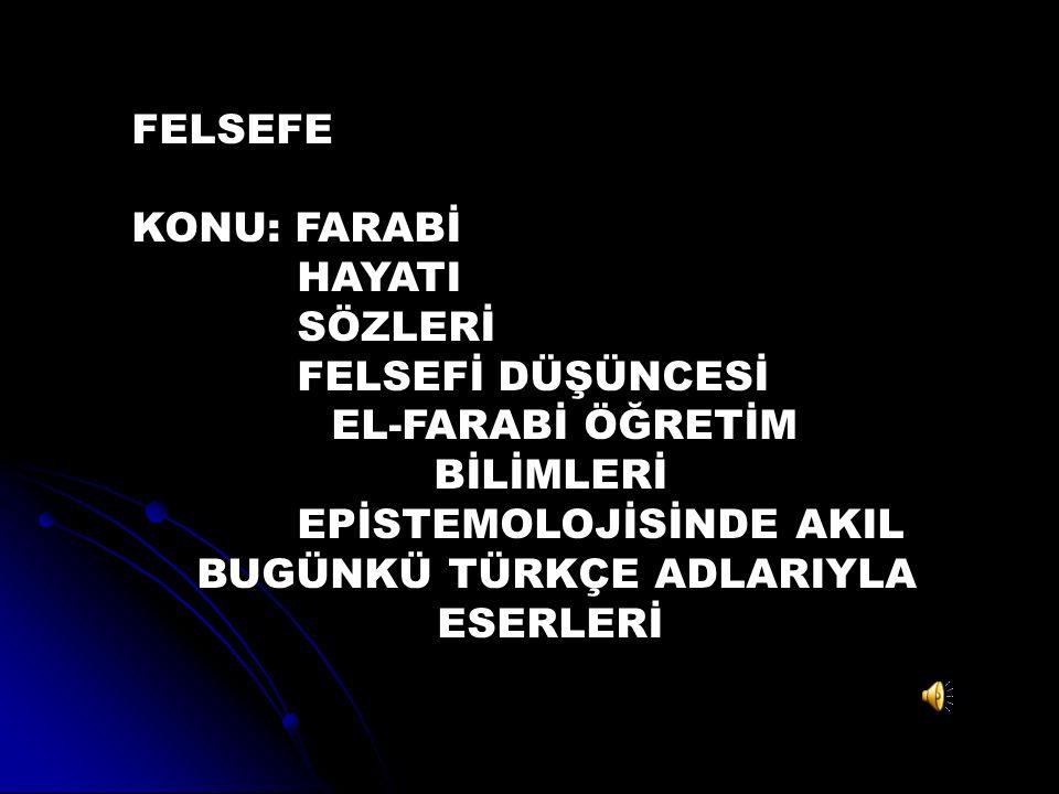 Türk-İslam düşünürüdür. İslam disiplini içinde yetişmiş Türk düşünürlerinin en büyüğüdür.