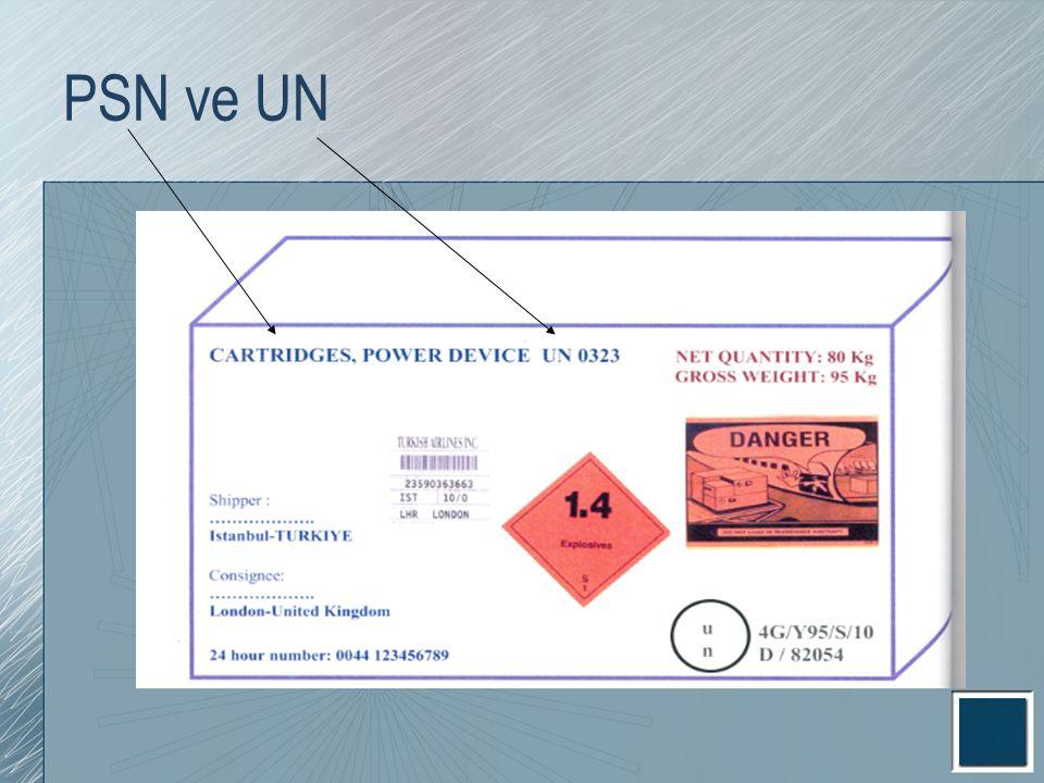 PSN ve UN