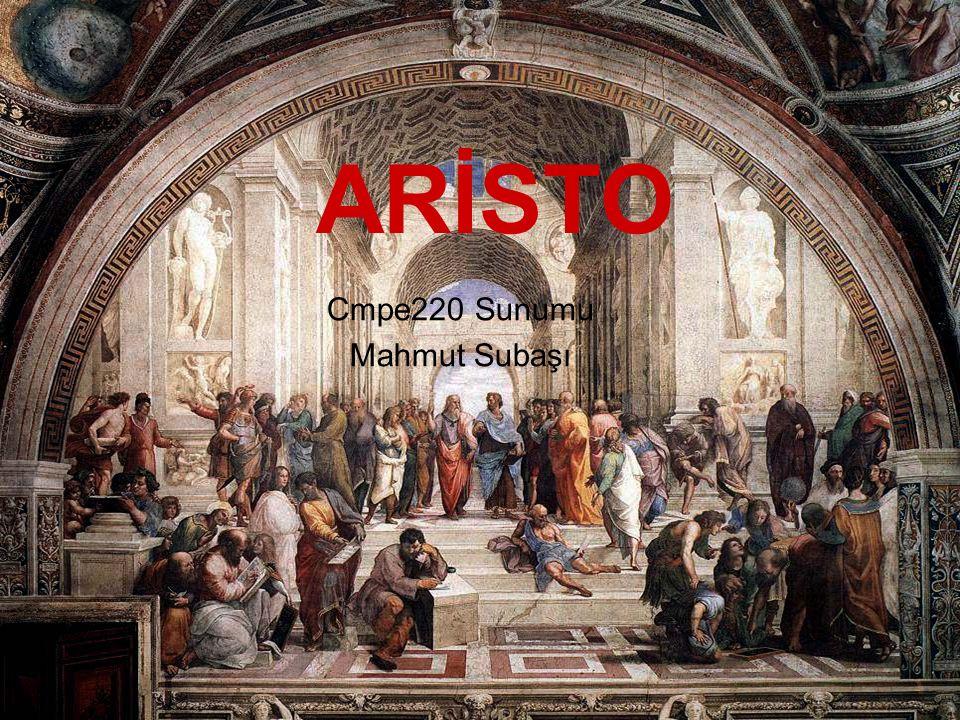 Aristo kimdir.► Aristoteles, antik Yunan döneminin en önemli filozoflarindan biridir.