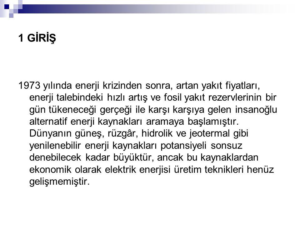 Örnek Problem 6.5 Türkiyede ortalama hızı V = 5.5m/s olan bir yerde elektrik sağlamak amacıyla 20*500 kW gücünde bir rüzgar türbini parkı kurulacaktır.Gereken minimum rüzgar hızı V R = 8.9 m/s olduğuna göre elektrik üretim maliyetini hesaplayınız.
