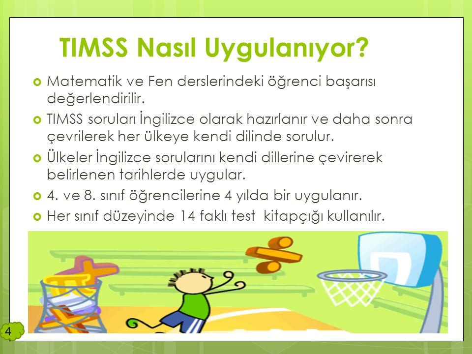 TIMSS'in Döngüleri