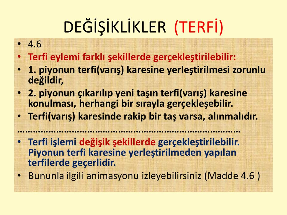DEĞİŞİKLİKLER (engelli sporcular) 4.9.