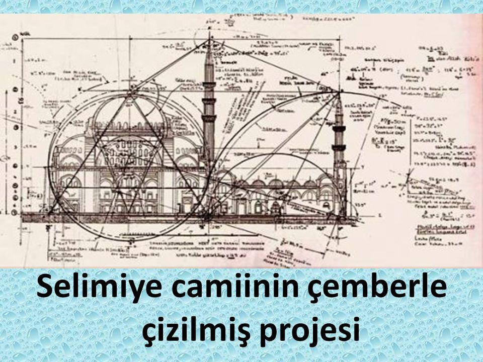 Selimiye camiinde çember kullanımı