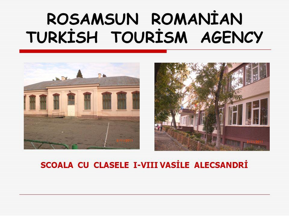 SCOALA CU CLASELE I-VIII VASİLE ALECSANDRİ