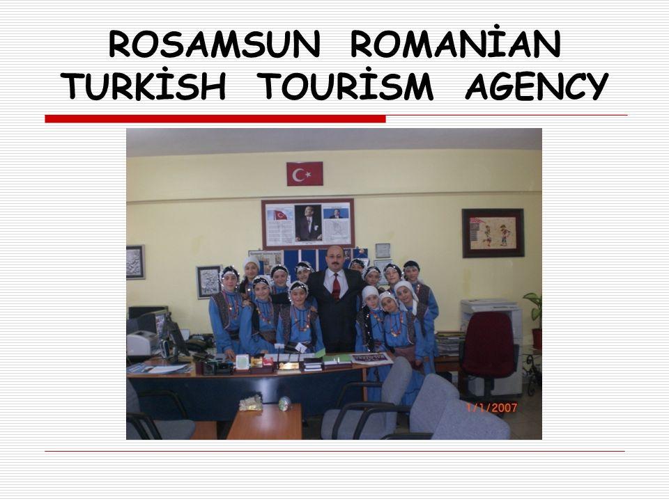 ROSAMSUN ROMANİAN TURKİSH TOURİSM AGENCY AB MÜZİK VE DANS PROJESİ BROŞÜRÜ