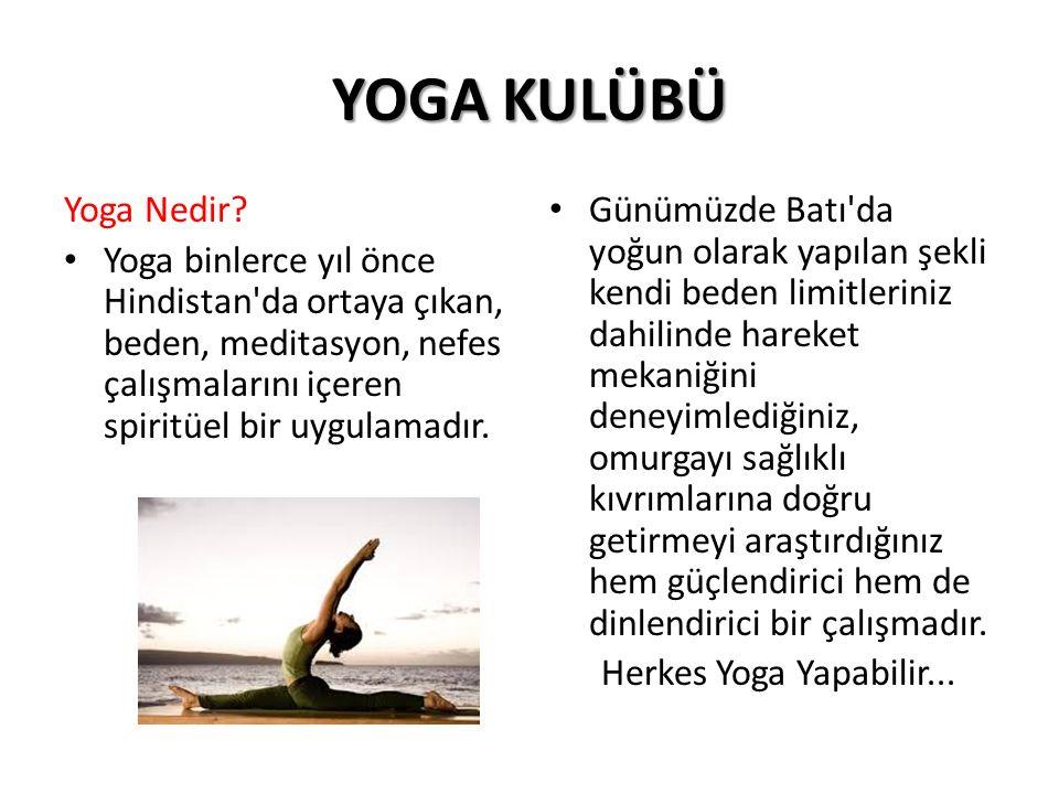 YOGA KULÜBÜ Yoga Nedir.