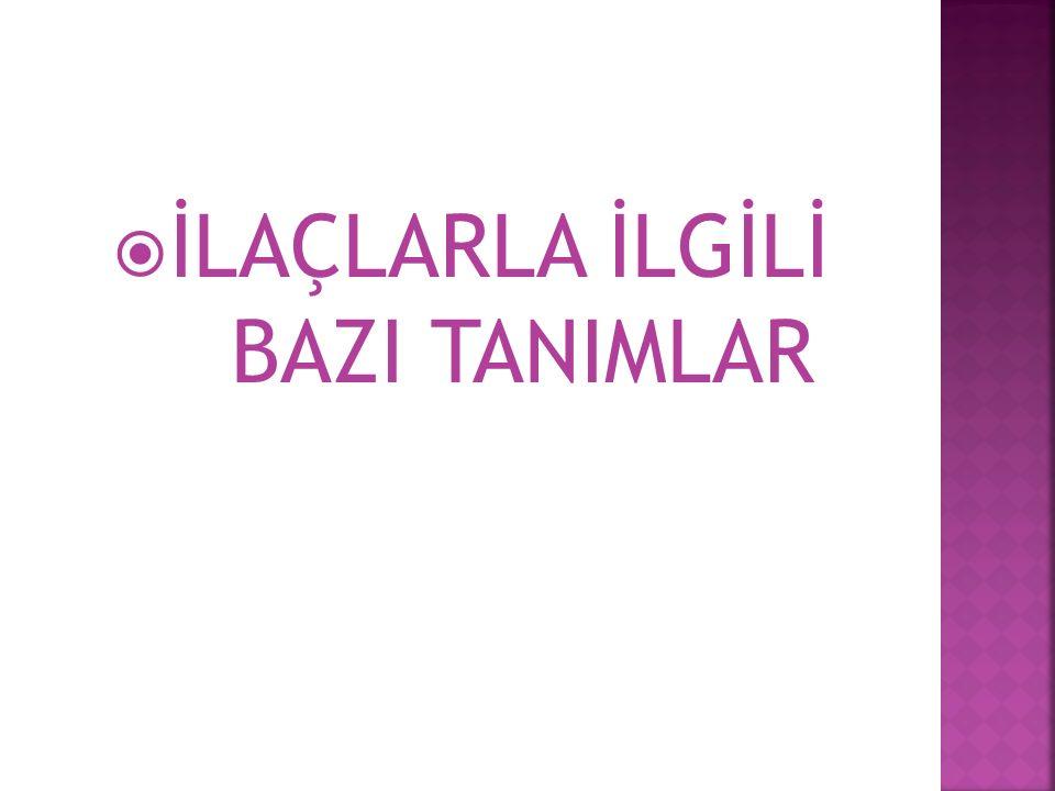 TANI KOYMA VE TEDAVİ ETME İŞİNİ LÜTFEN HEKİMİNİZE BIRAKIN!!!