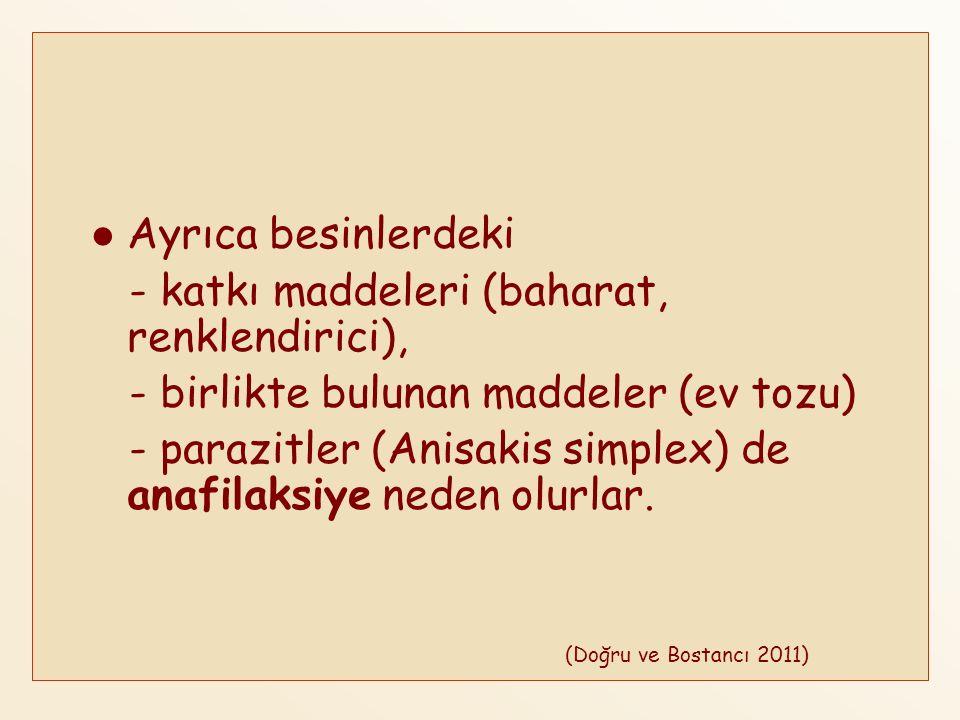 Anafilaksinin Sınıflandırılması ANAFİLAKSİANAFİLAKSİ İmmunolojik Non- İmmunolojik İdiopatik IgE (besinler, lateks vs).