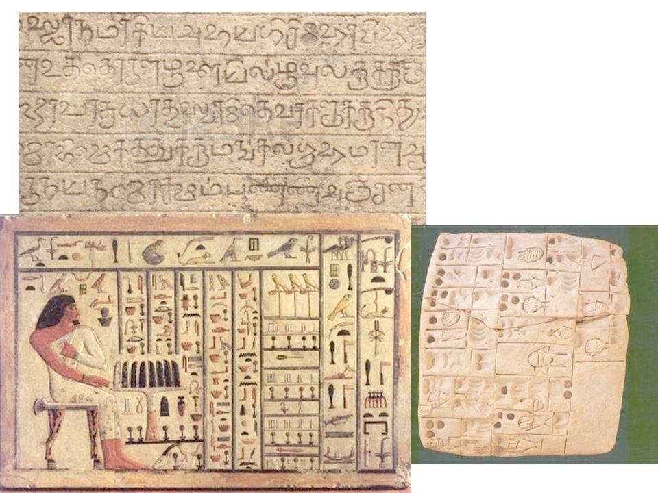 Kağıda Geçiş Parşomen Papirus Yaşayan Ölünün Kitabı(MÖ 1900) En eski kütüphane - Atina(MÖ500) Kağıt MS105, Ts'ai Lun Matbaa 800, Çin, Blok baskı 1450 hareketli tipografya, Avrupa Mekaniksel çoğaltma Yunan ve Arap eserlerinin tercümesi ve çoğaltılması