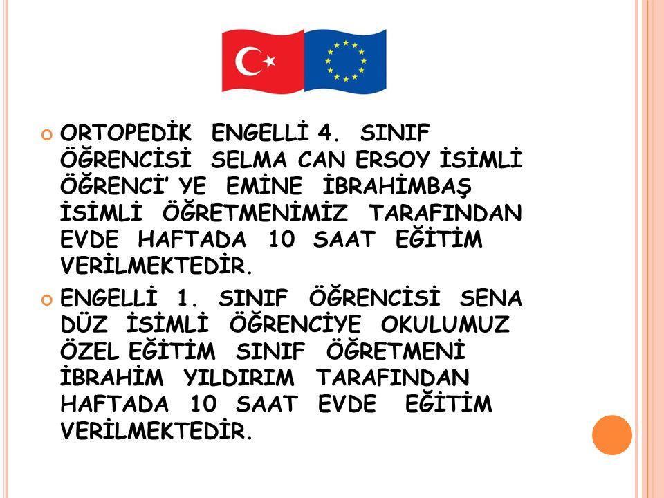 ORTOPEDİK ENGELLİ 4.
