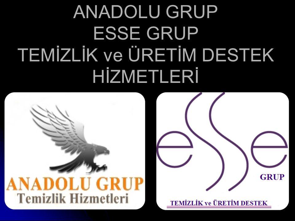 ANADOLU GRUP ESSE GRUP TEMİZLİK ve ÜRETİM DESTEK HİZMETLERİ