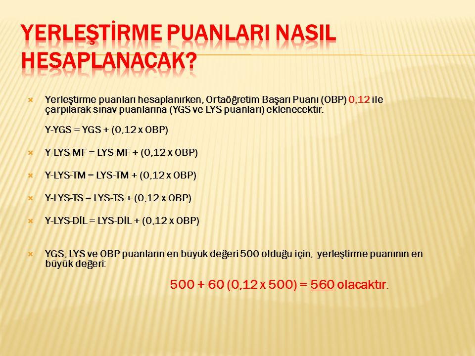  YGS'de toplam 160 soru sorulacak ve süre 160 dakika olacaktır.