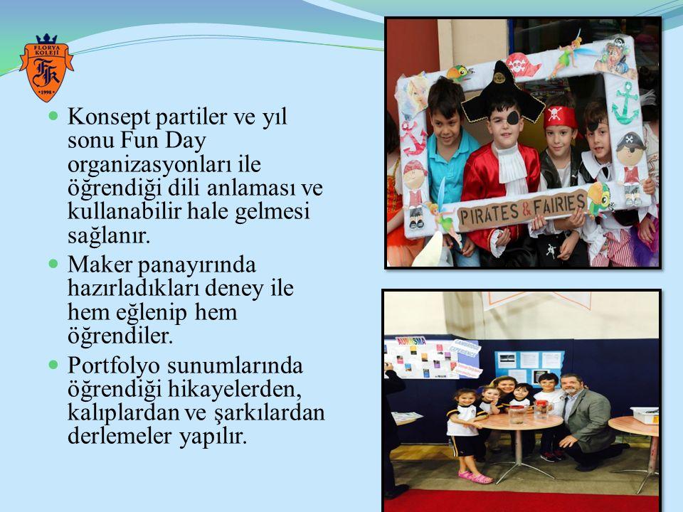 ÖZEL FLORYA ORTAOKULU ALMANCA PROGRAMI Öğrencilerin ihtiyaçlarına ve öğrenme biçimlerine yönelik gruplandırmalar yapılır.