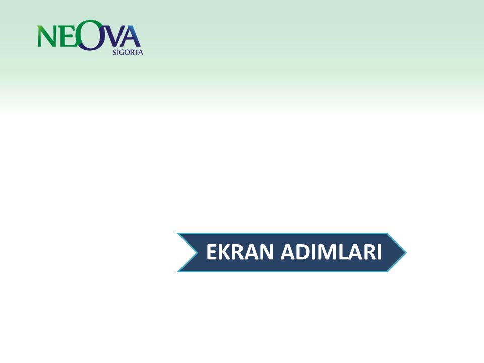 Programa erişim linkine tıklayarak ya da Internet Explorer veya Firefox adres çubuğuna adresi yazarak programa giriş yapılabilir.
