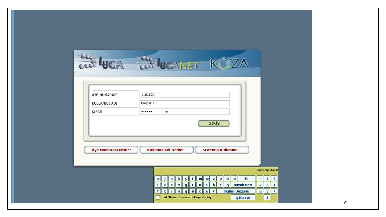 Hesap Planından Fişe Gitmek Luca muhasebe sisteminde, hesap planından fişe gidebilmek için Muhasebe Menüsü --- > Hesap Planı İşlemleri --- > Hesap Planı Listesi butonuna tıklıyoruz.