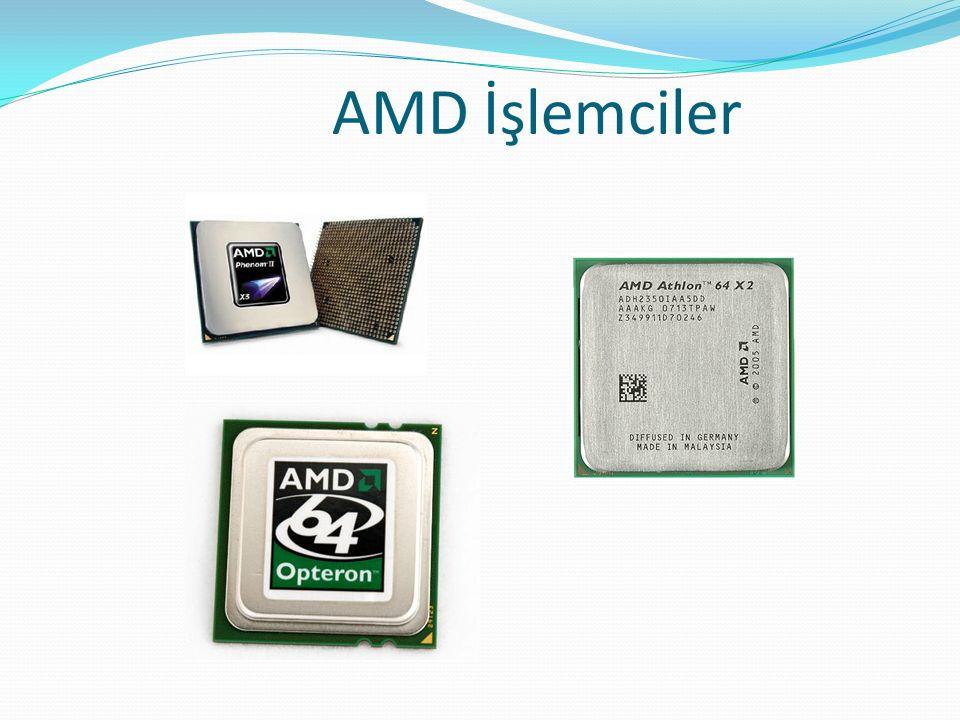 AMD İşlemciler