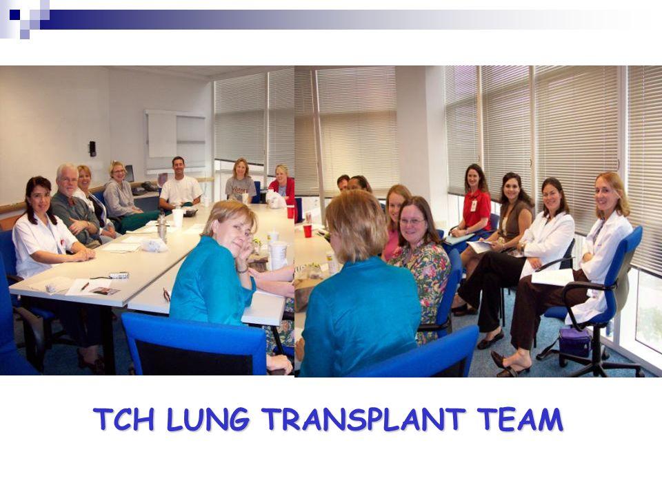TCH LUNG TRANSPLANT TEAM