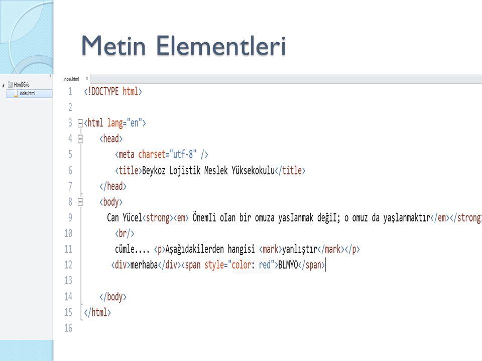 Yorum Ekleme - Comments Yorumlar, yazılan kodun daha kolay okunmasını sa ğ lamaktadır.